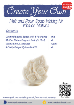Create Your Own – Melt and Pour Soap Making Kit – Mother Nature