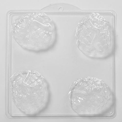 Peacock PVC Mould (4 Cavity)