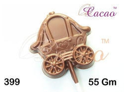 Princess Carriage Lolly PVC Mould (3 Cavity)