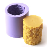Round Cylinder Large Silicone Candle Mould