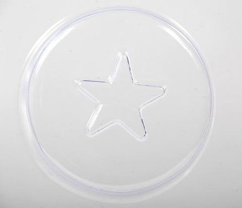 Star On Circle Soap Mould (5 Cavity)