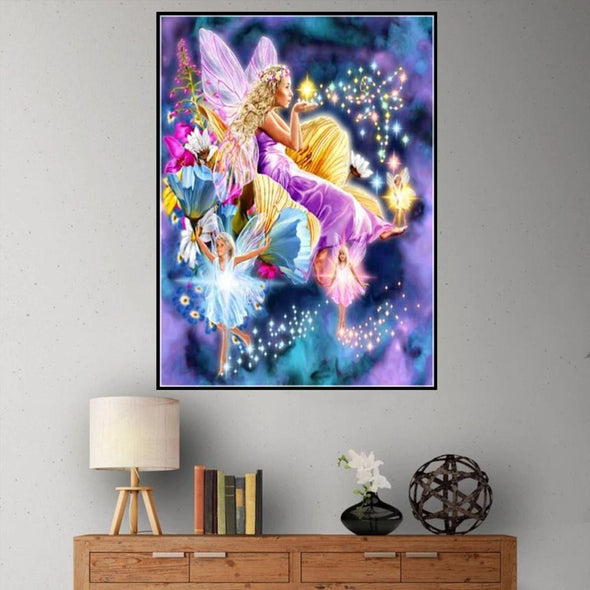 Angle Elf - Full Drill DIY Diamond Painting