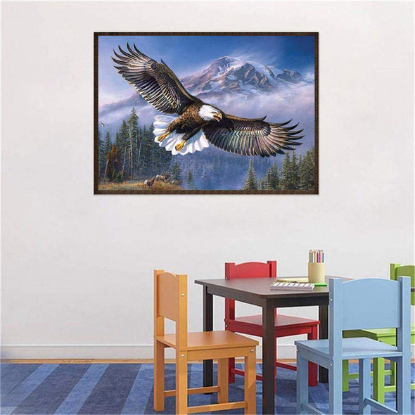 DIY Flying Eagle Diamond Painting Full Drill Mosaic