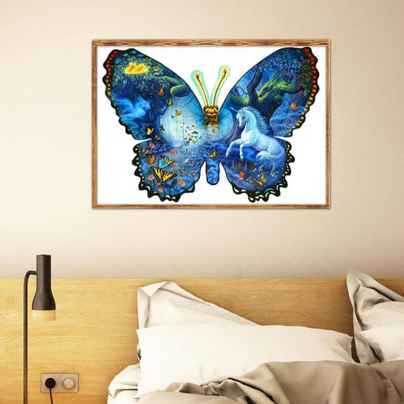 5D DIY Full Drill Diamond Painting Novelty Butterfly