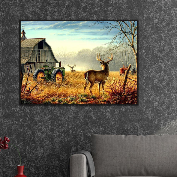 Deer Full Drill DIY DIY Diamond Painting