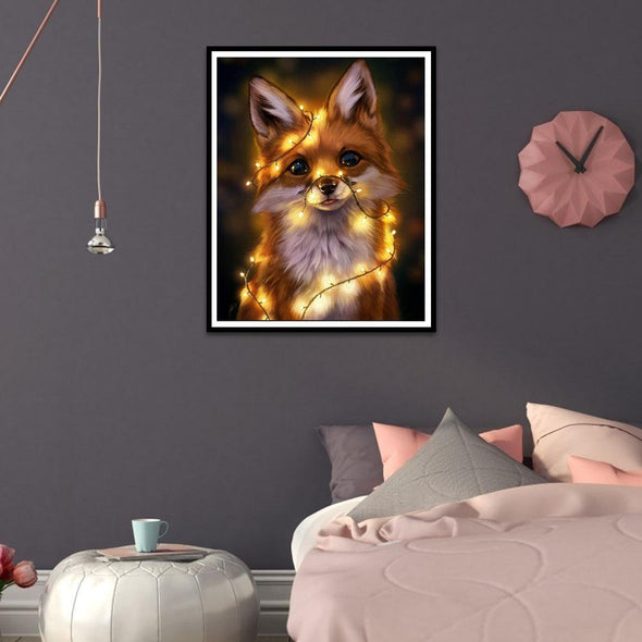 Cute Animals  - Full Round Diamond - 40x30cm