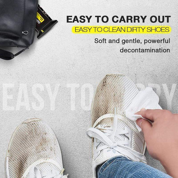 Easy White Shoe Wipes (BUY 3 FREE SHIPPING)