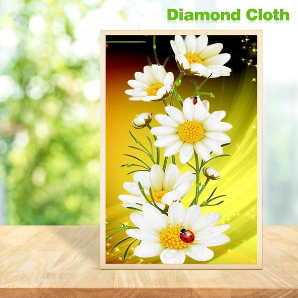 Flower Butterfly Full Drill Diamond Painting