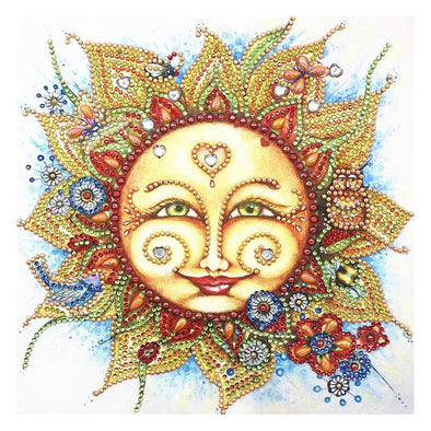 Sun - Special Shaped Diamond - 30x30cm