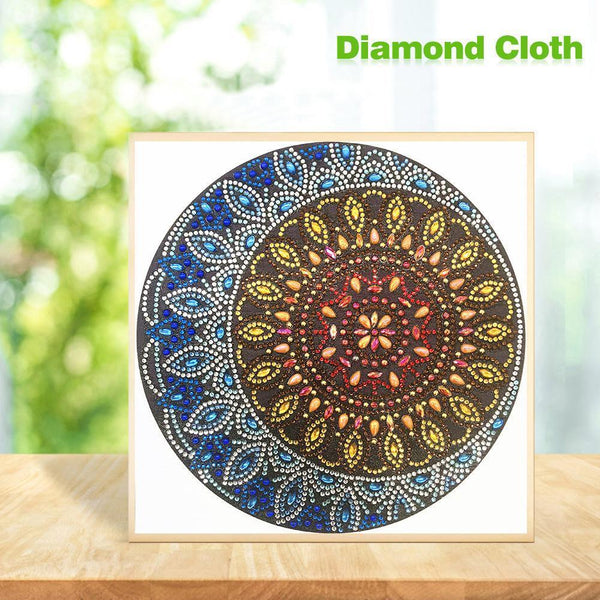 Mandala DIY Special Shaped Diamond Painting