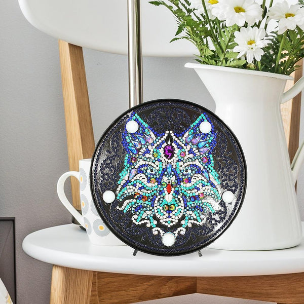 Animal DIY Full Drill Diamond Painting LED Night Lamp