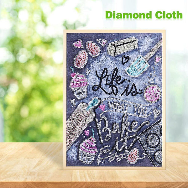 Letter - Special Shaped Diamond - 30x25cm