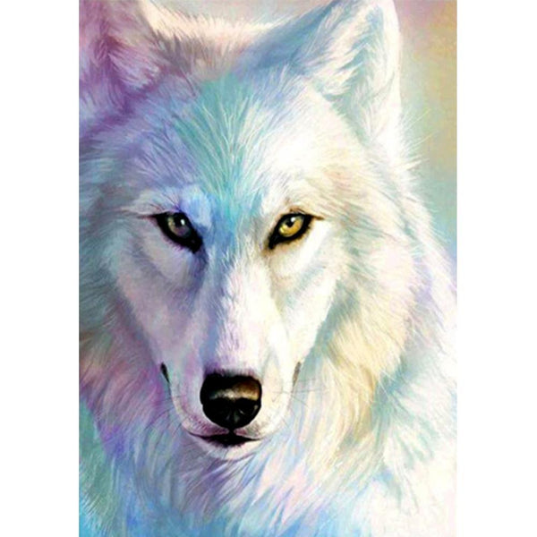Wolf  DIY  Full Square Drill Diamond Painting