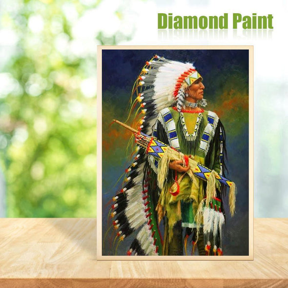 Indian  - Full Round Diamond - 30x40cm