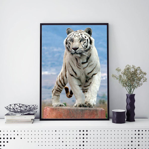 Tiger  - Full Round Diamond - 30x40cm