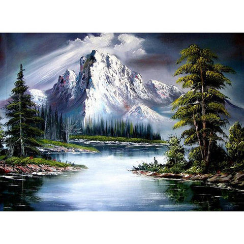 Scenery DIY Full Drill Diamond Painting Kits