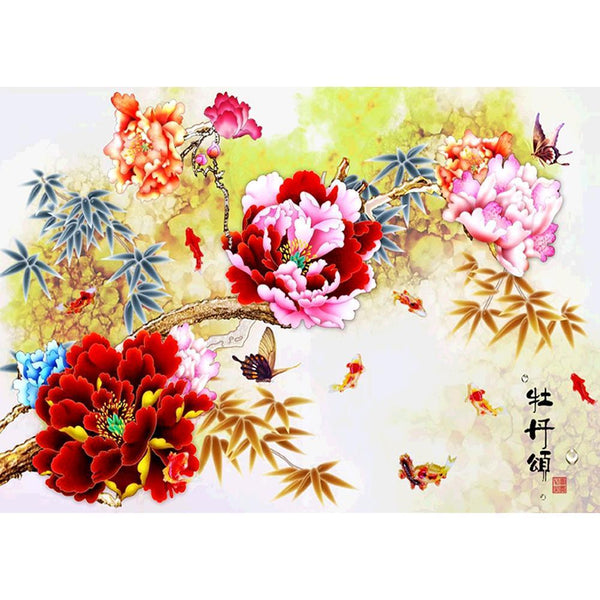 Chinese Style DIY Full Drill Diamond Painting
