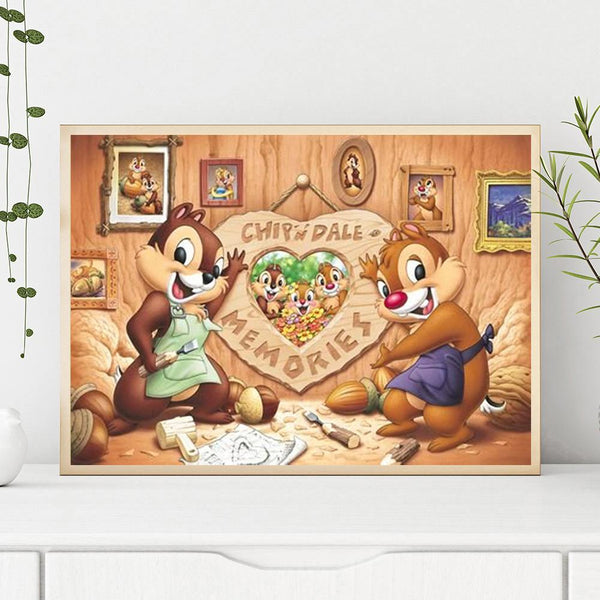 Chip and Dale DIY Full Drill Diamond Painting