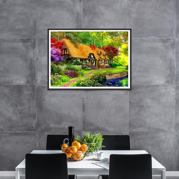 House DIY Full Drill Diamond Painting