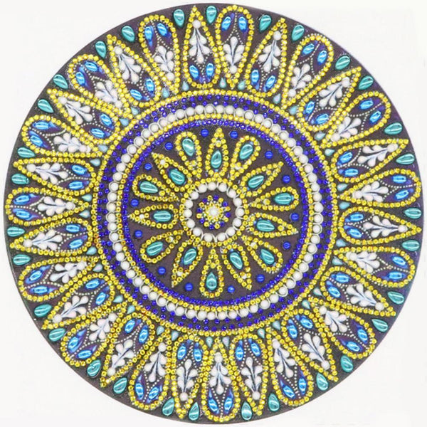 Mandala  - Special Shaped Diamond - 30x30cm
