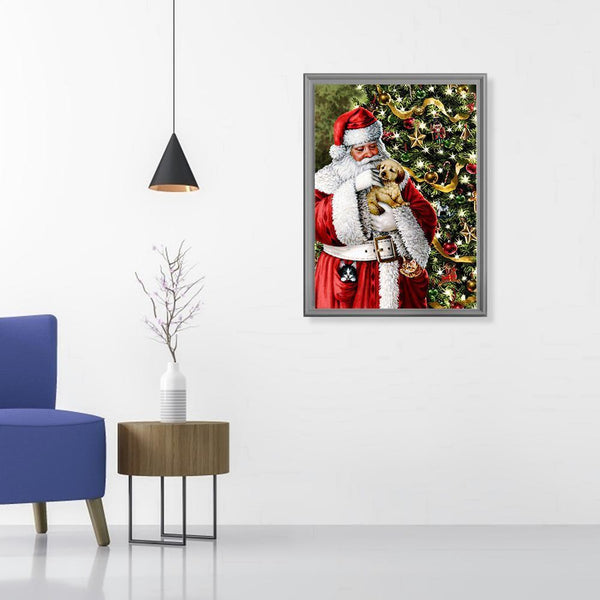 Santa Claus Snowman DIY Full Drill Diamond Painting
