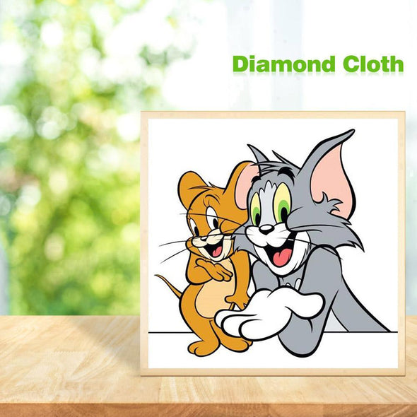 Tom and Jerry - Full Drill DIY Diamond Painting