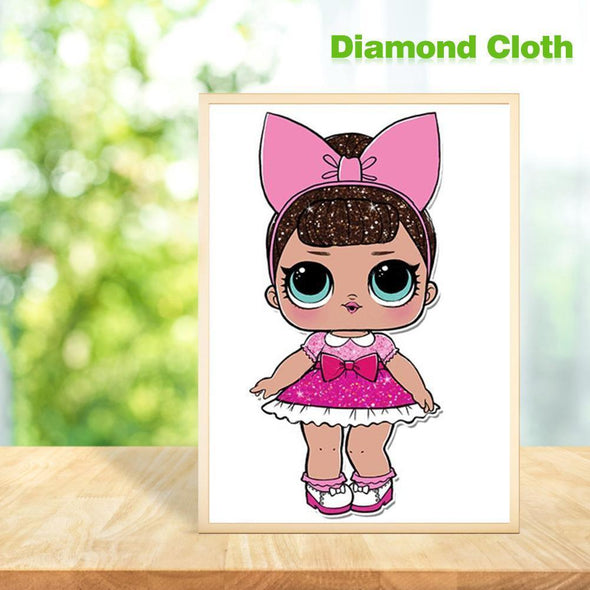 Surprise Doll DIY Full Drill Diamond Painting