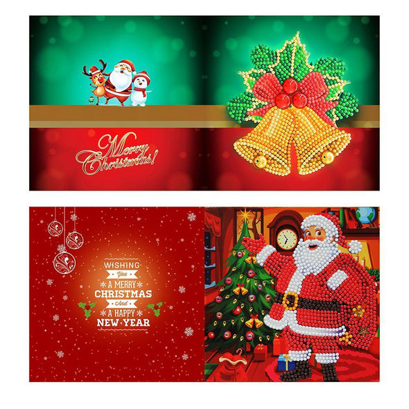 8pcs Christmas Card