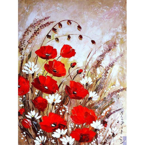 Flowers DIY Full Drill Diamond Painting