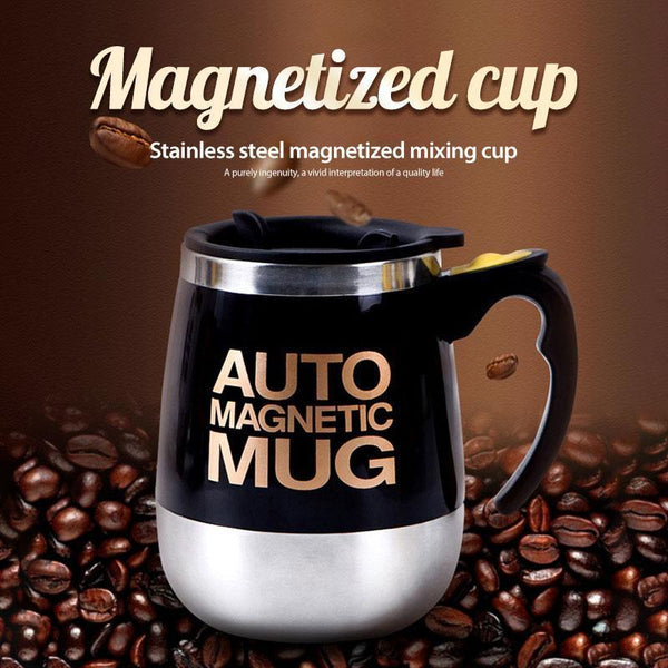 Stainless Steel Upgrade Magnetized Mixing Cup(BUY 2 FREE SHIPPING NOW)