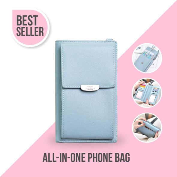 2019 multi-function large-capacity fashion RFID phone bag【Today's lowest price】