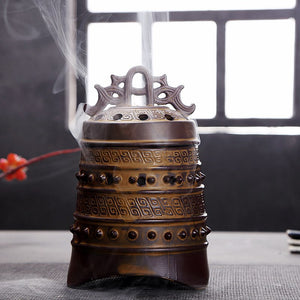 Retro Tripodia Incense Coil Burner Tower