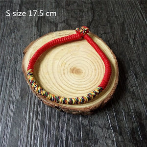 Handmade Multi Color Tibetan Braided Bracelets