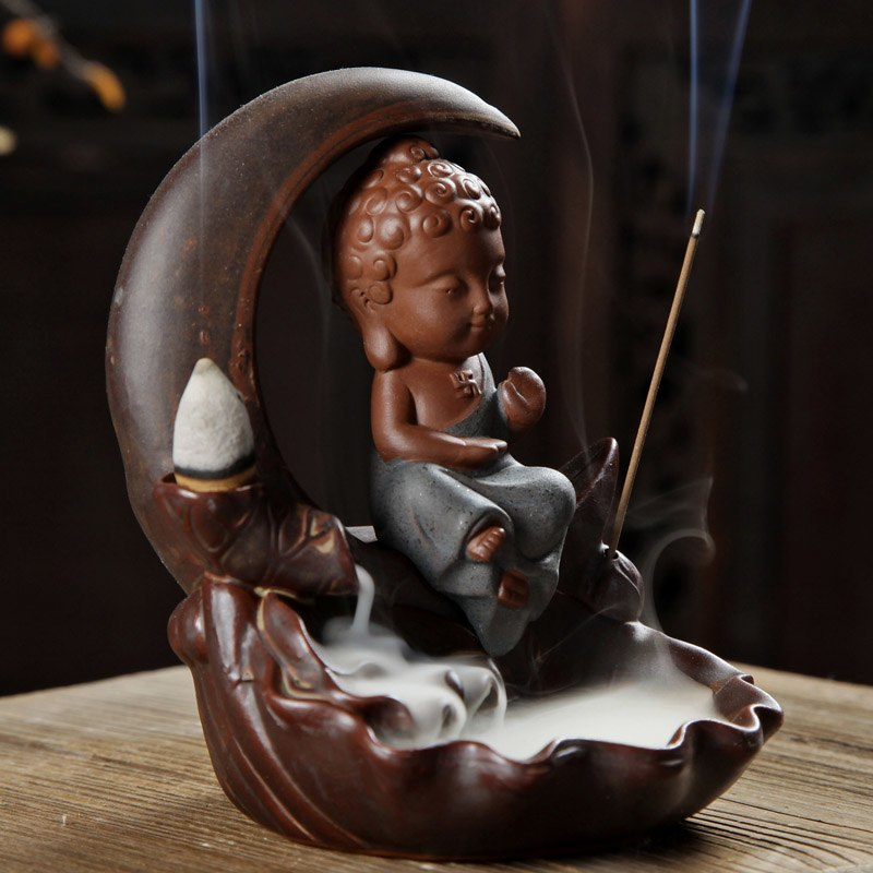 Moon Hanger Buddha Incense Burner
