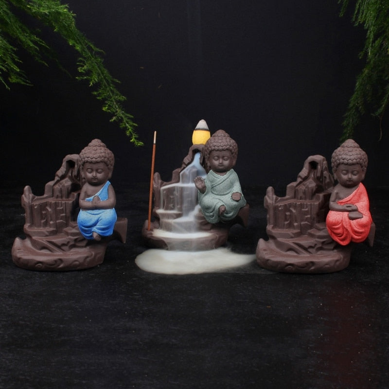 Ceramic Buddha Handicraft Incense Burner