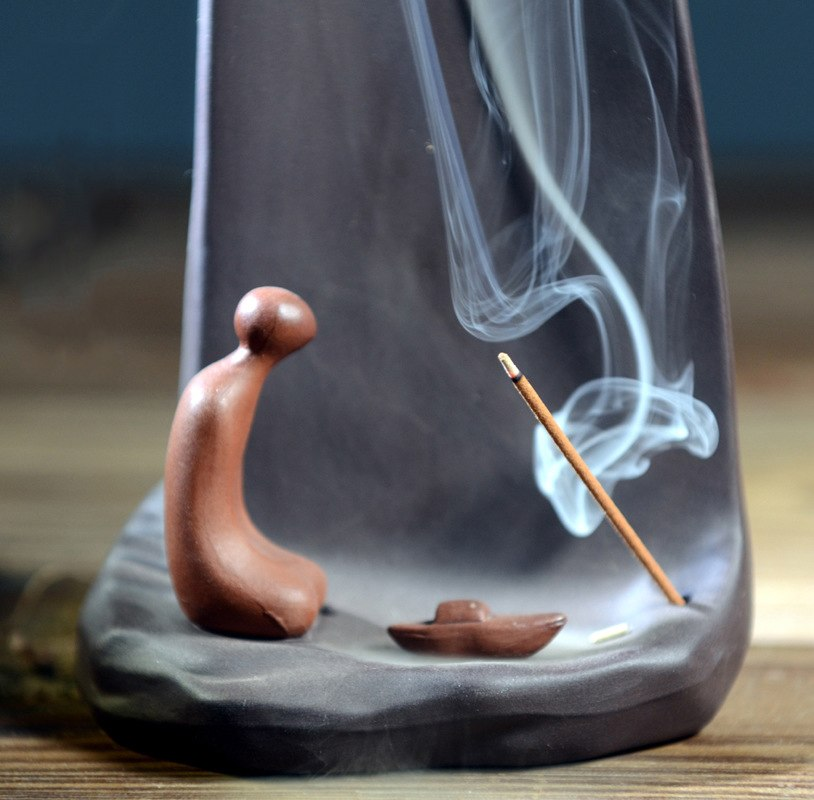 Creative Mountain Incense Burner
