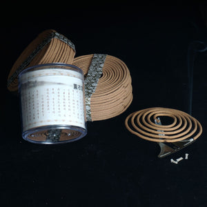 Natural Sandalwood Incense 48 Coils Per Box