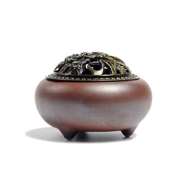 Ceramic Incense Holder - HealthZen.co