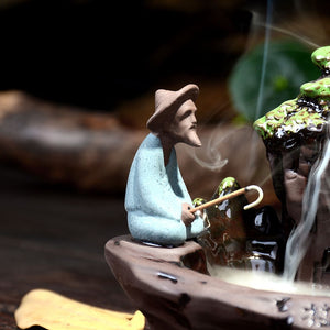 Chinese Fisherman Backflow Incense - HealthZen.co