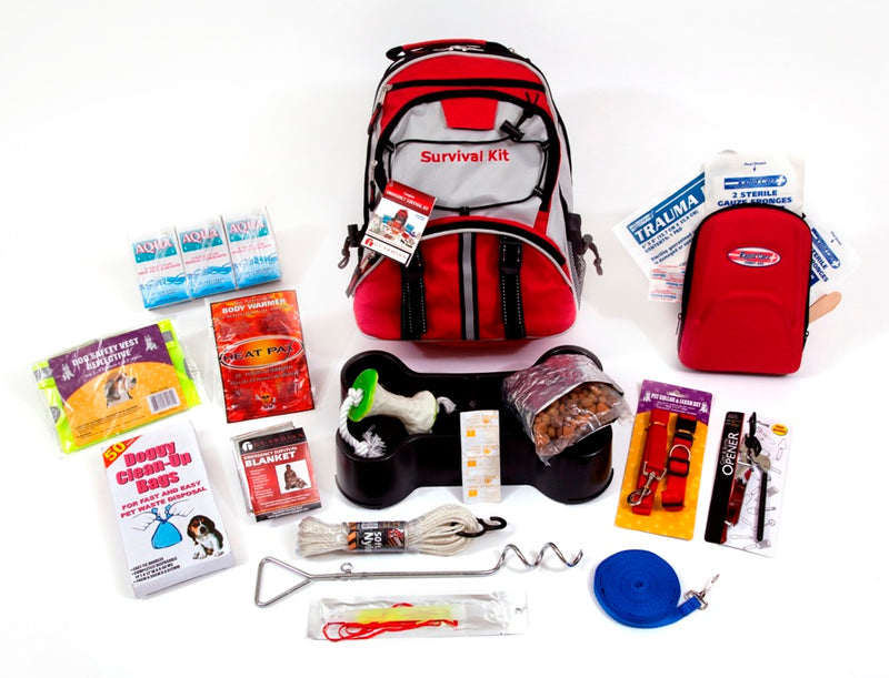 Dog Survival kit | Pet Survival Kit | NZ Emergency Survival Kits | Earthquake Kit