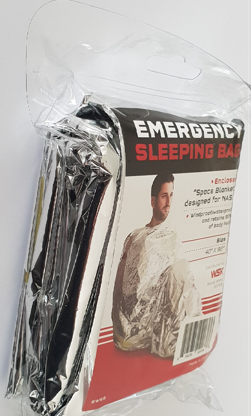 Emergency Survival Sleeping Bag | NZ Emergency Survival Kits | Earthquake Kit