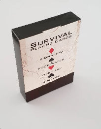 Deck Of Survival Playing Cards| NZ Emergency Survival Kits | Earthquake Kit