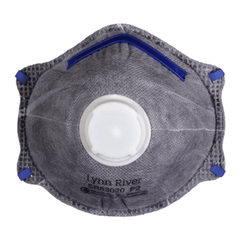 P2 Carbon Respirator Dust Masks with Valve & Active Carbon Filter