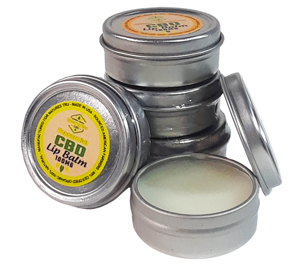 Scented Lip Balm with Pure CBD Isolate