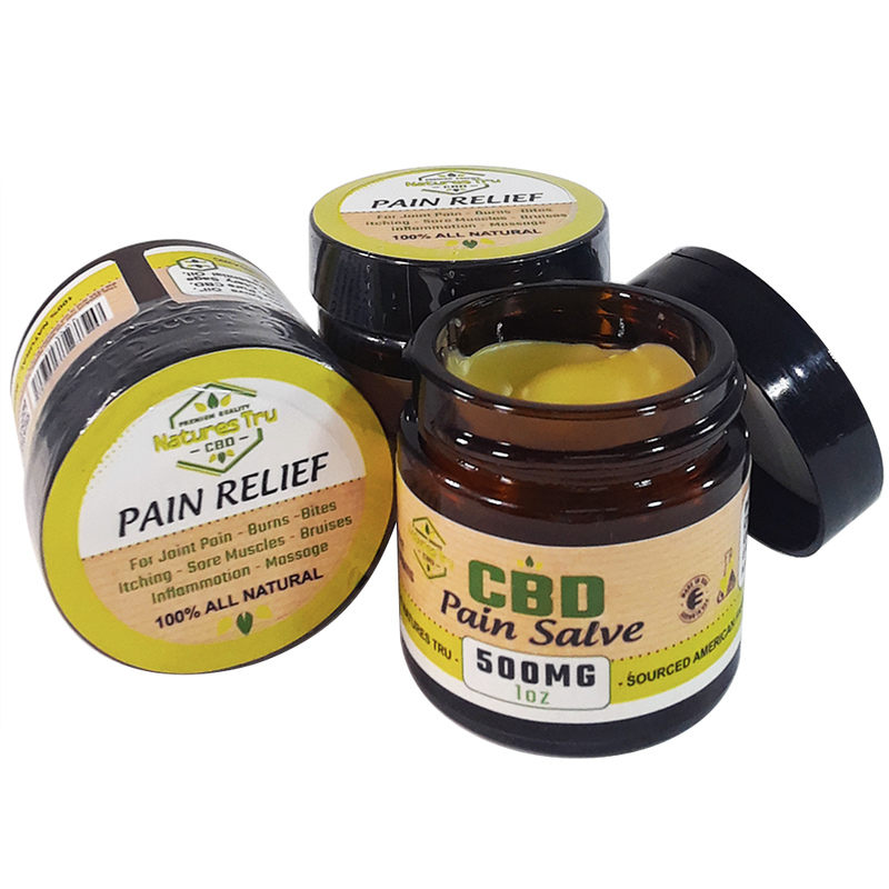 Organic CBD Pain Salve for Topical Application