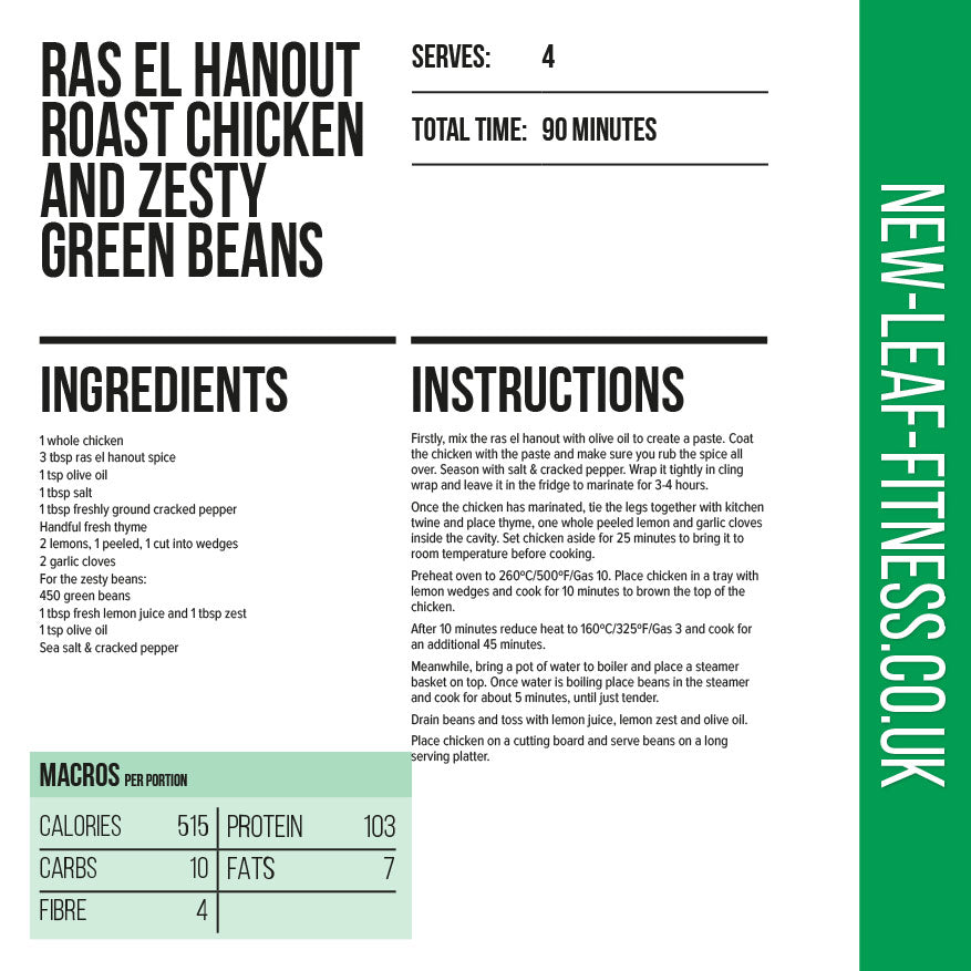 Ras El Hanout Roast Chicken