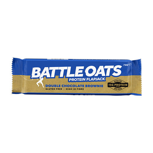 Battle Oats Low-Sugar Protein Flapjacks - Individual Bar