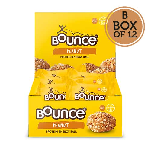 Bounce Peanut Protein Balls - Box of 12
