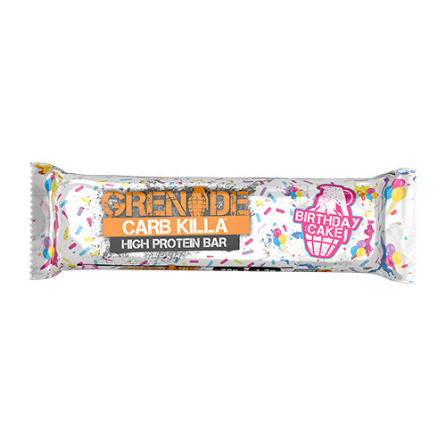Grenade Carb Killa Protein Bars - Birthday Cake - Individual Bar