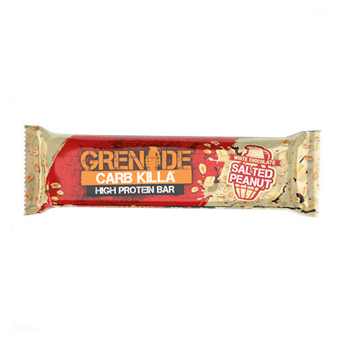 Grenade Carb Killa Protein Bars - White Chocolate Salted Peanut - Individual Bar